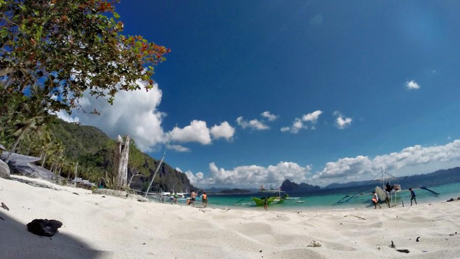 Commnado beach El Nido Palawan