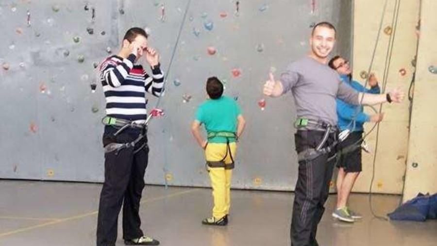 climbing at climbat