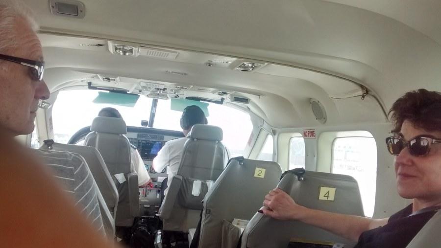 Nasca Lines into the plane