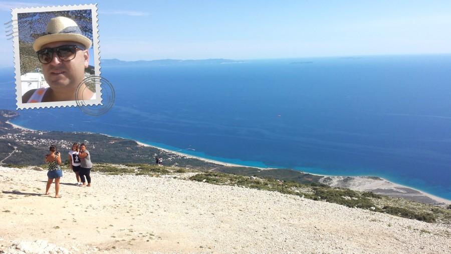 Panorama Llogara mountain