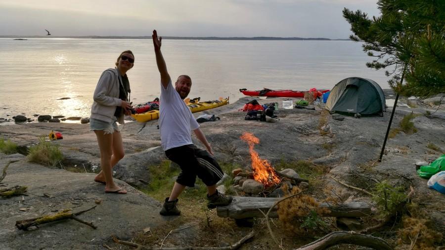 Multi Day Kayaking Tour