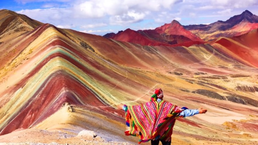 rainbow montain