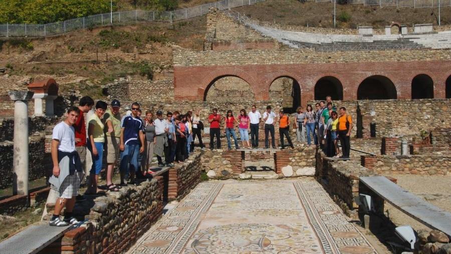 Ancient town Heraclea Lyncestis near Bitola