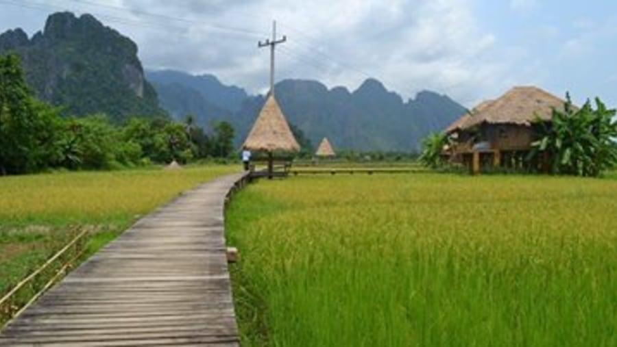 Vieng Tara resort at Vang Vieng