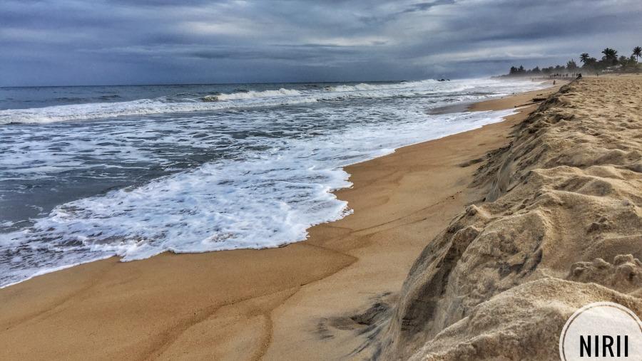 Beach, waves, local feeling