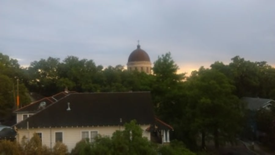 Our Lady Of The Holy Rosary viewed from Balcony