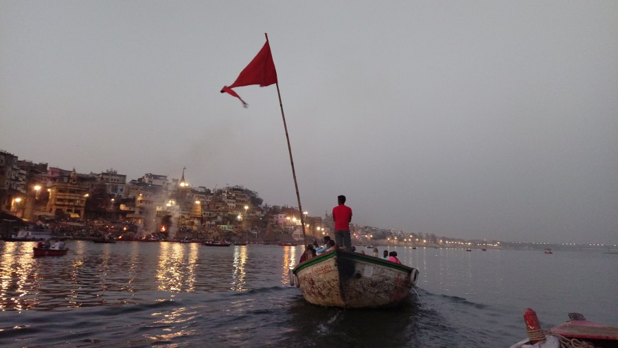 Evening at Ganges