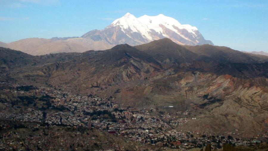 Illimani Mountain