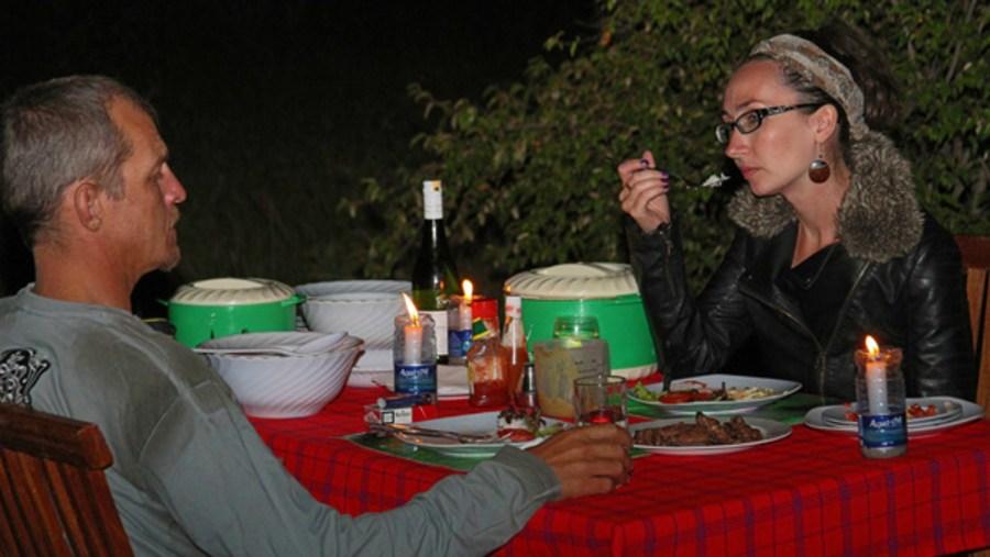 Bush Dinner - Fisi Camp