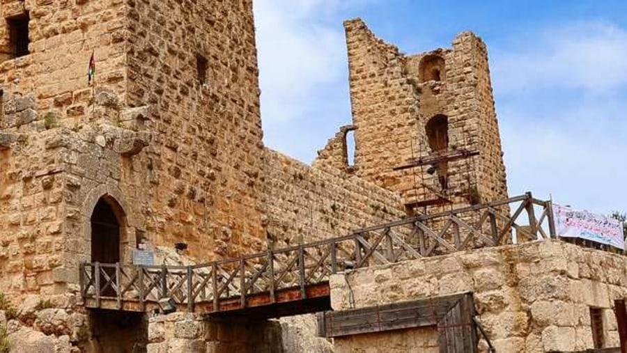 A 12th-century AD Ajloun Castle