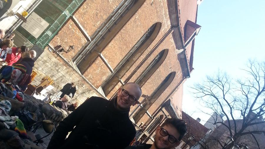 Walking tour with Winner of Euro Vision, Eldar Gasimov