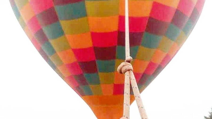 Teotihuacán by hot air ballon