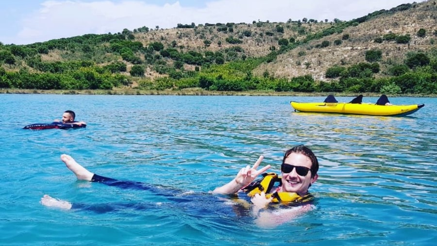 Kayaking in Ali Pasha Castle