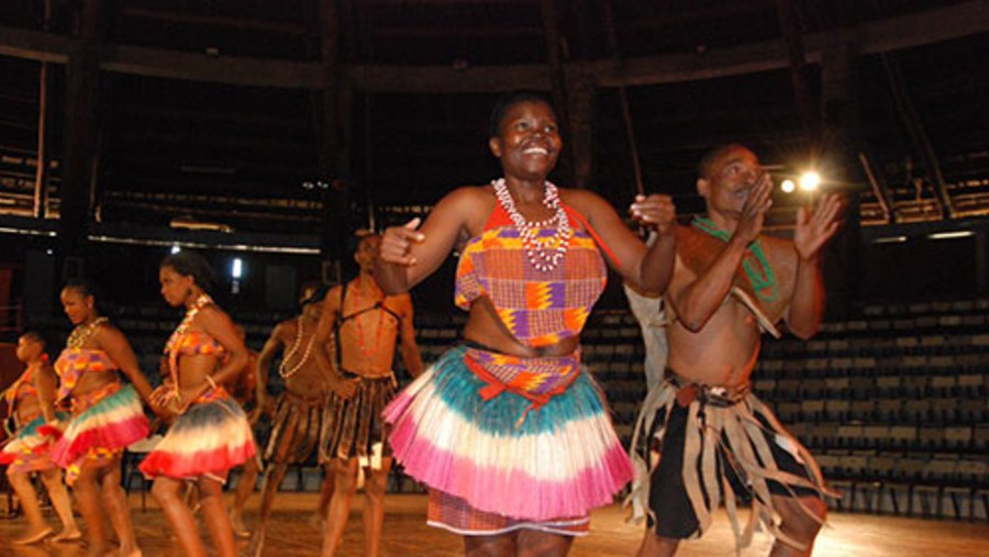 Cultural dance at Bomas of Kenya