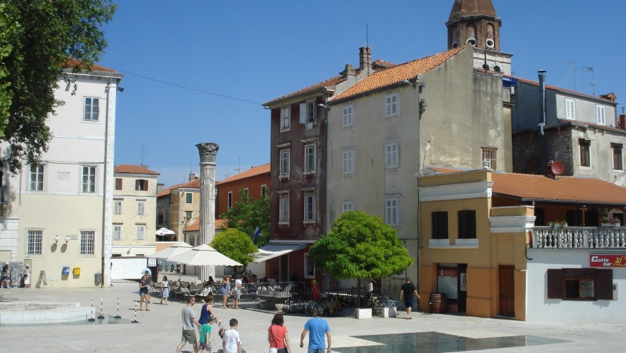 Beautiful day in Zadar