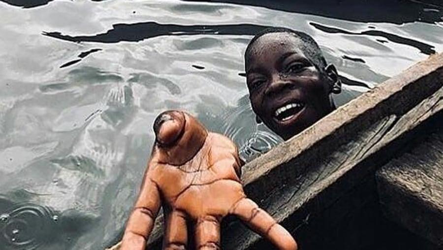 The waters of Makoko