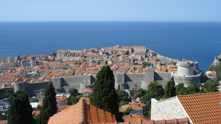 A viewpoint of beautiful Dubrovnik