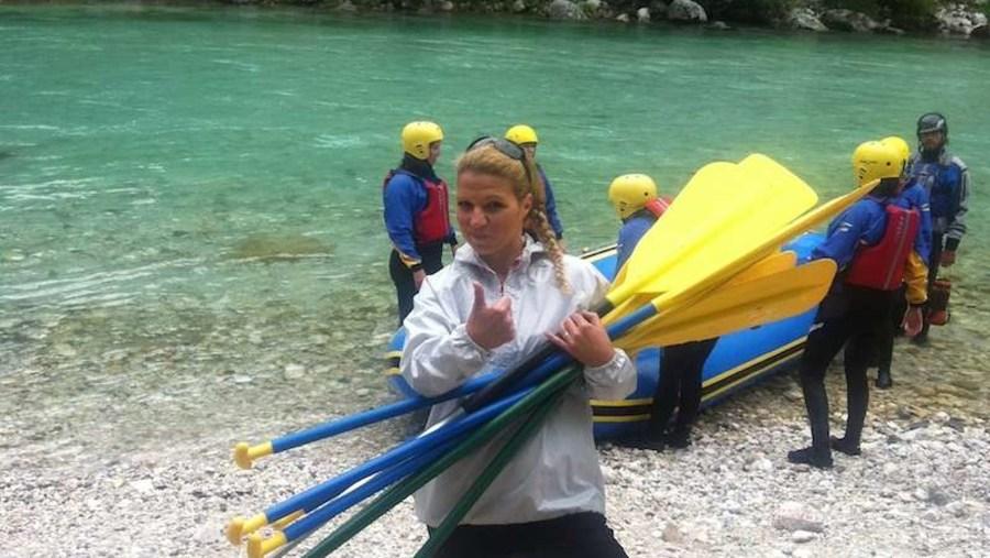 Rafting - before