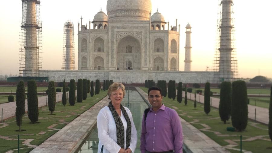 THE way to experience the Taj Mahal
