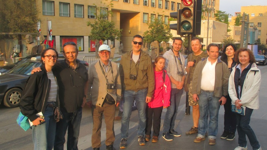 Spanish group in Down Town Beirut (2018-03)