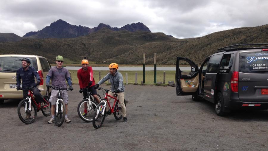 biking cotopaxi