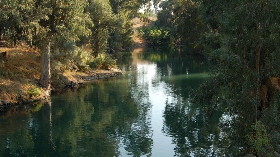 the holy river of Jordan