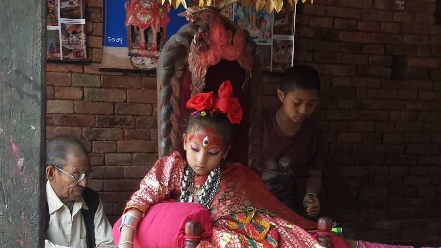 Kumari at Bungamati