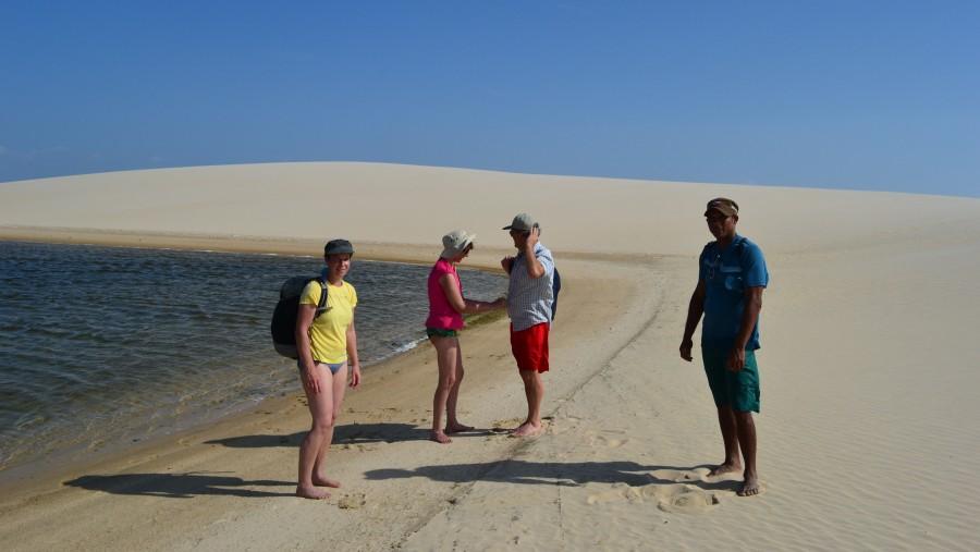 Great lensois sand dunes