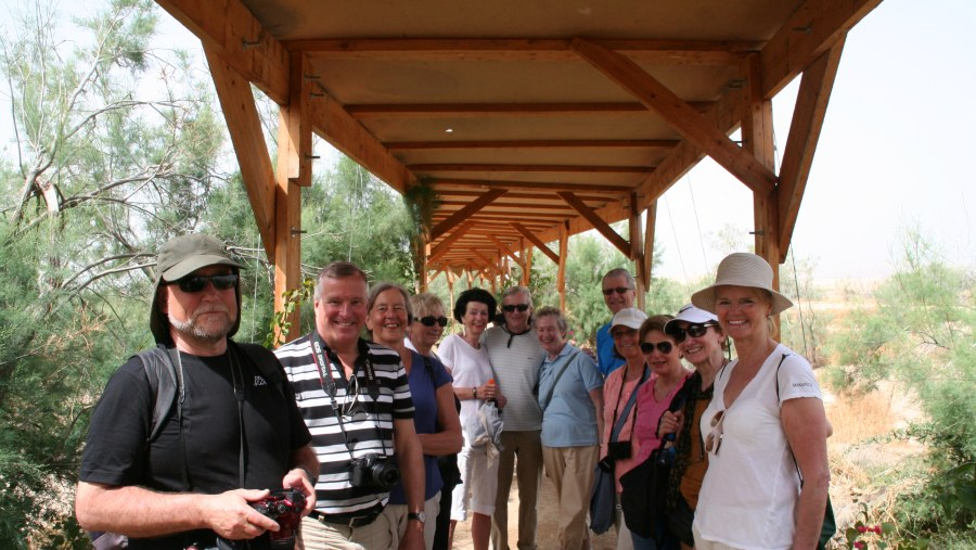 Holy gathering at the Baptism site
