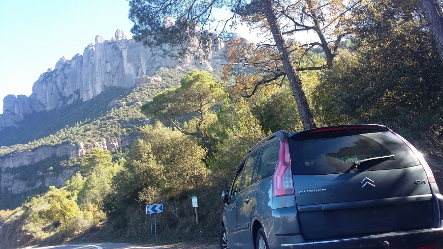 Going up to Montserrat