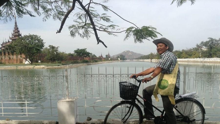At Mandalay Palace