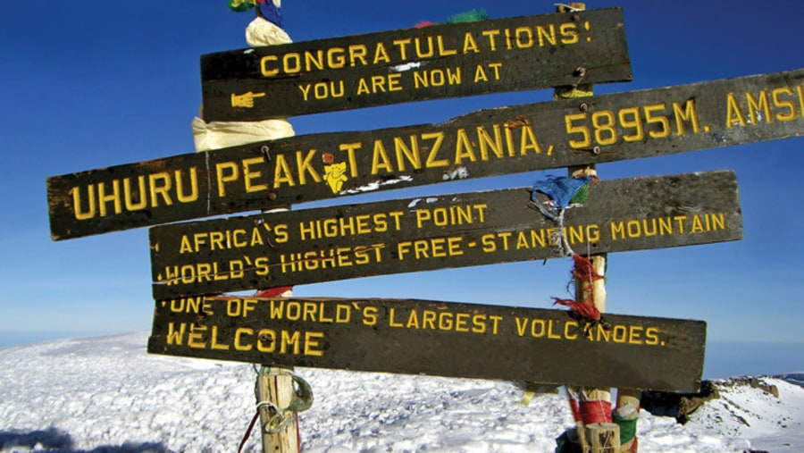 The roof of Africa - Mt. kilimanjaro
