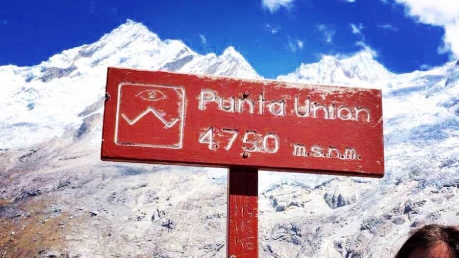 Trekking Santa Cruz, Cordillera Blanca