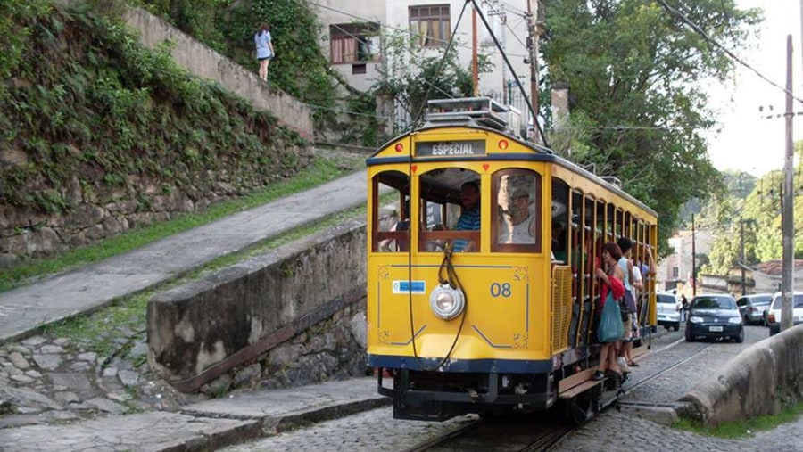 the old STREET CAR