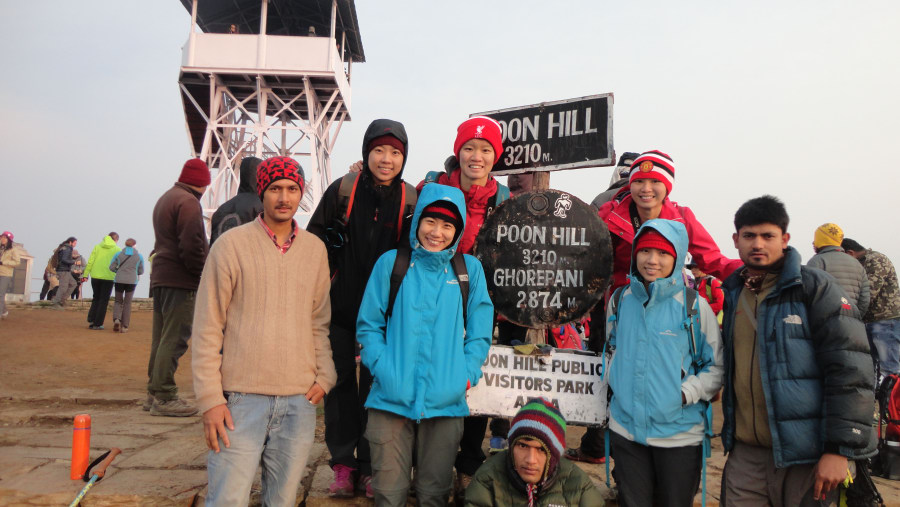 Poon Hill View Point