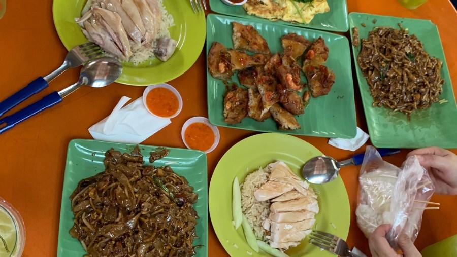Singapore popular hawker food