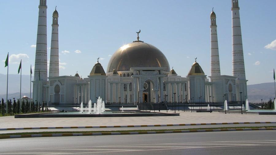 Turkmenbashi Ruhy mosque in Kipchak