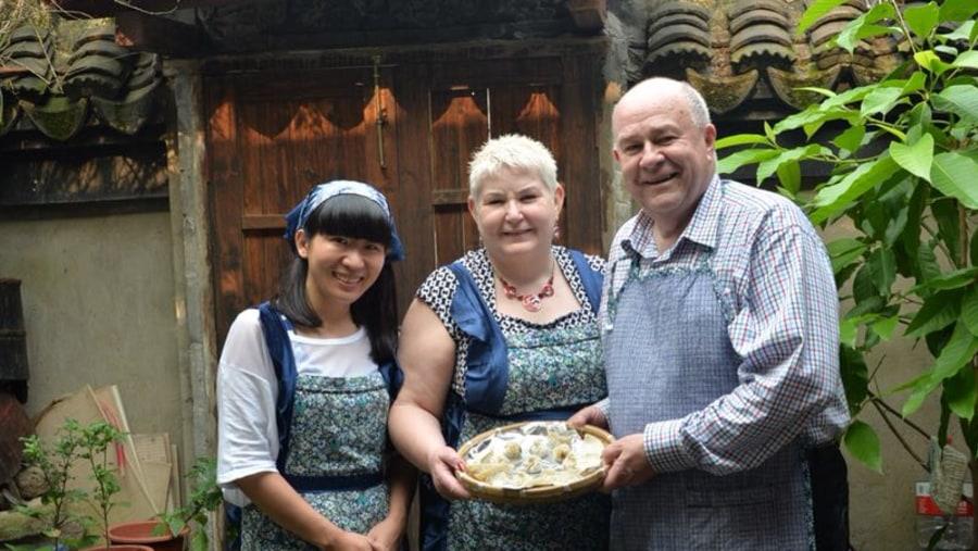 Happy dumpling class