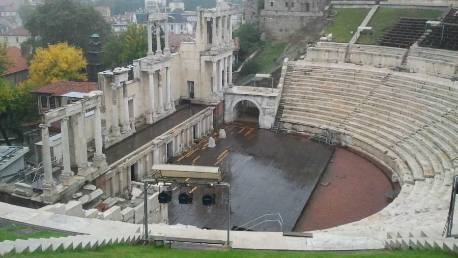 antique, theatre, roman