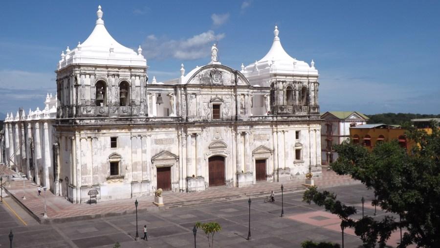Main church in Leon