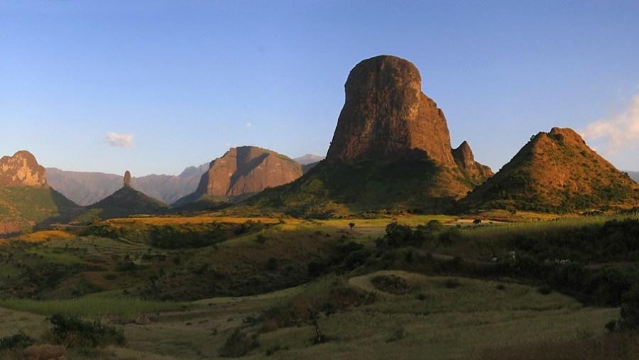 Ethiopian land scapes
