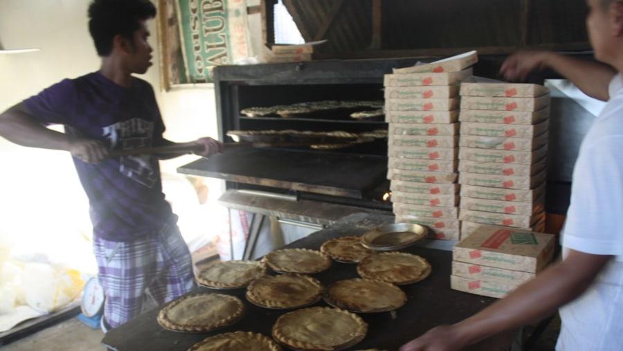 Freshly baked Buko Pie