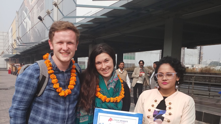Guests from New Zealand