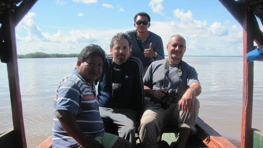 SAILING THE AMAZON RIVER