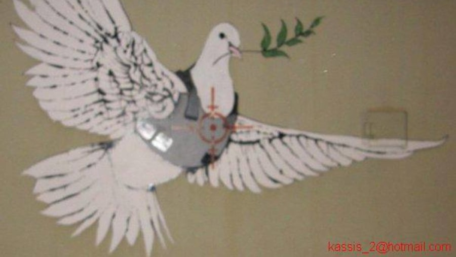 Banksy graphic