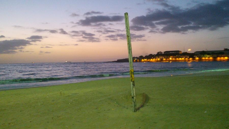 Copacabana Beach, 6am