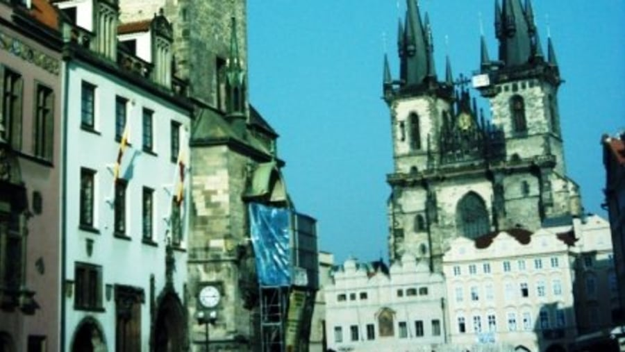 Prague, main square in Old Place