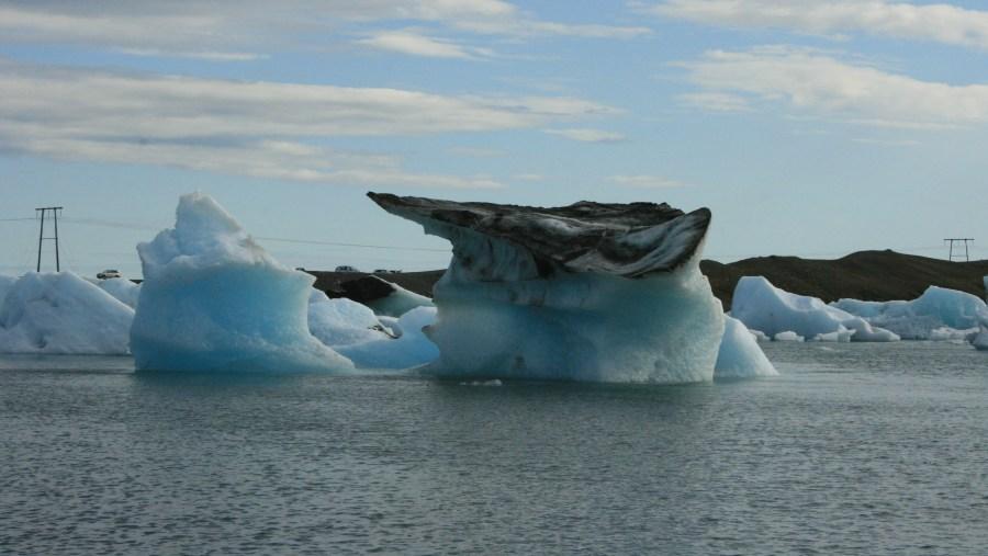 the glacier lagoon jokulsarlon