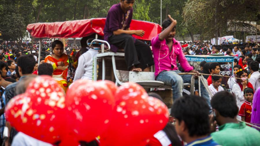 Bangla New year celebrating