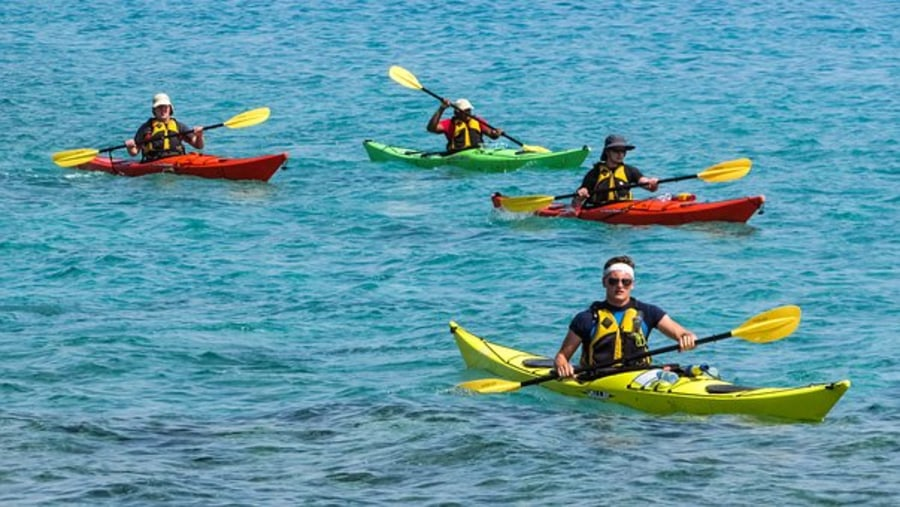 Kayaking in False Bay